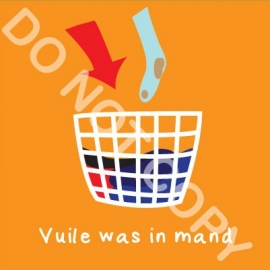 Vuile was in mand (K)