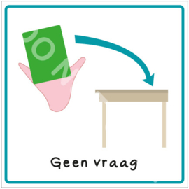 Geen vraag (LM)