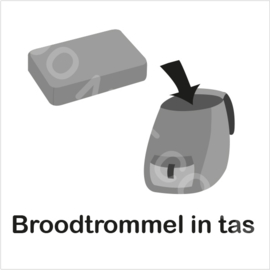 ZW/W - Broodtrommel in tas