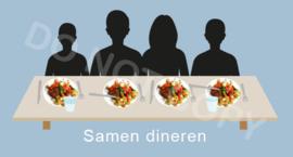 Samen dineren - T-J/TV