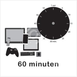 ZW/W - Beeldschermtijd 60 min.