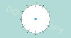 Tijd/klok - M