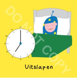 Uitslapen 7 uur Mighty (O)