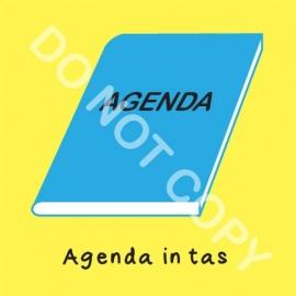 Agenda in tas (O)