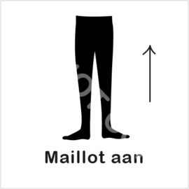 ZW/W - Maillot aan