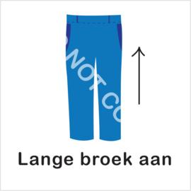 BASIC - lange broek aan