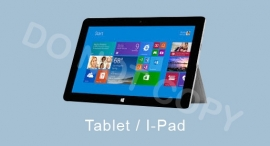 Tablet / I-Pad - T-J/TV