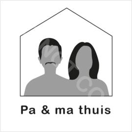 ZW/W - Pa & ma thuis