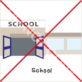 Niet naar school (S)