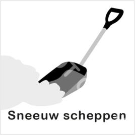 ZW/W - Sneeuw scheppen