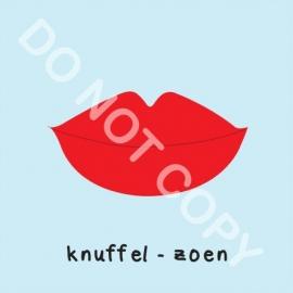 Knuffel - zoen (M)