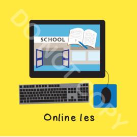 Online les (O)