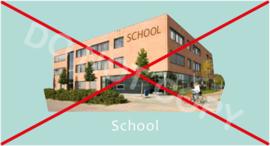 Niet naar school - M