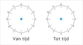 Van tijd/tot tijd - TV