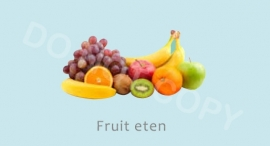 Fruit eten - J