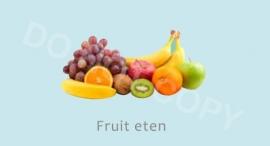 Fruit eten - J