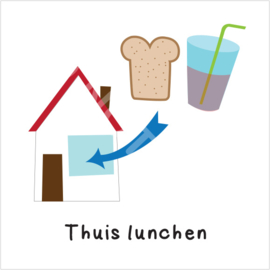 Thuis lunchen (S)