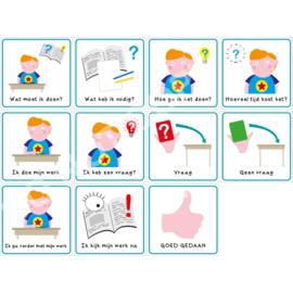 Werkmethode + Vragenkaart J