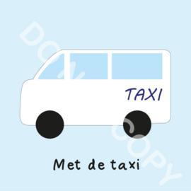 Met de taxi (M)