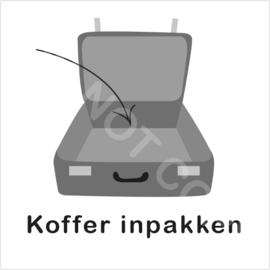 ZW/W - Koffer inpakken