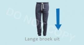 Lange broek uit - J