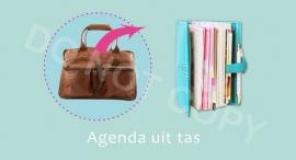Agenda uit tas - M