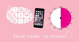 Social media  - 30 M/TV