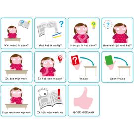 Werkmethode + Vragenkaart M