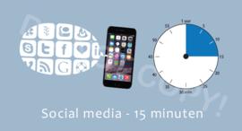 Social media 15 J/TV