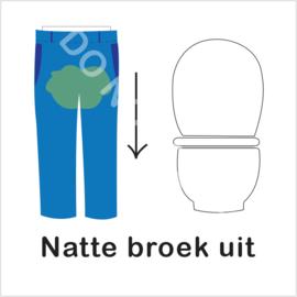 BASIC - Natte broek uit