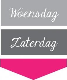 Dagen v/d week - 2