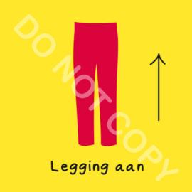 Legging aan (O)