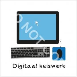 Digitaal Huiswerk maken (H)