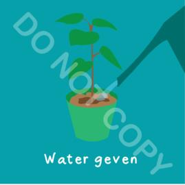 Water geven potplant (act.)