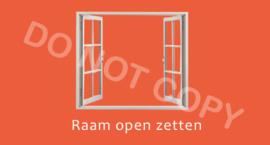 Raam openzetten - (K)T/V