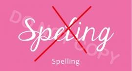 Spelling - M