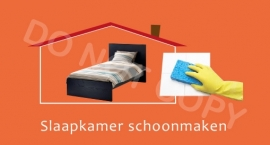 Slaapkamer schoonmaken - T/V
