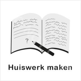 ZW/W - Huiswerk maken