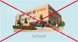 Niet naar school - J