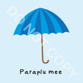 Paraplu mee (M)