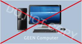 GEEN computer - J/TV