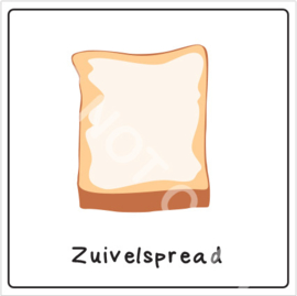 Broodbeleg - Zuivelspread