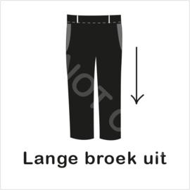 ZW/W - Lange broek uit