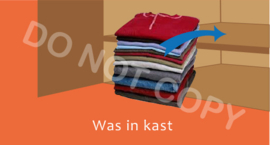Was in kast - T/V