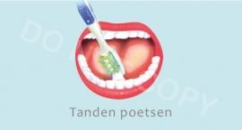 Tanden poetsen - J