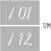 7X 01 t/m 12 - Maanden v/h jaar NR2