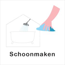 BASIC - Badkamer schoonmaken