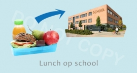 Lunch op school - J