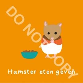Hamster eten geven (K)