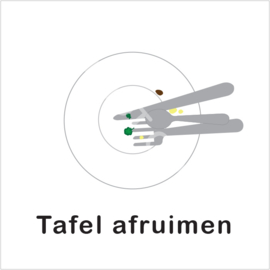 BASIC - Tafel afruimen